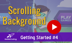 Getmecoding.com Gamefroot Scrolling Background