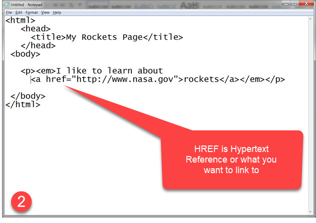 GetMeCoding HTML Example Step 2