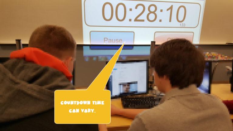 GetMeCoding.com Lego Chicken Challenge Countdown