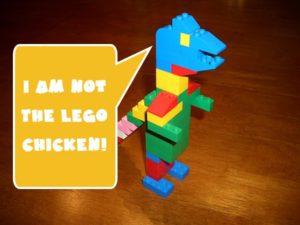 GetMeCoding.com Lego Dinosaur