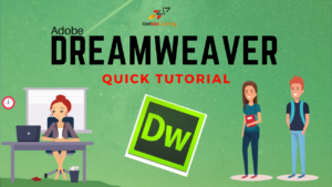 Adobe Dreamweaver - Quick Tutorial GetMeCoding.com