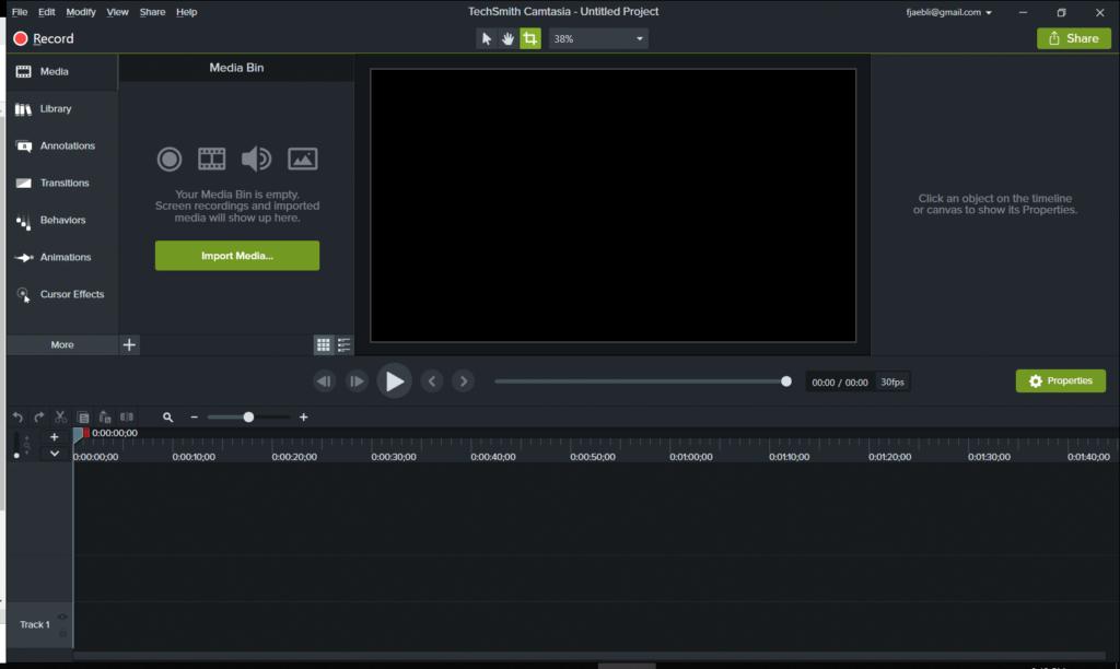 TechSmitch Camtasia Video Editor