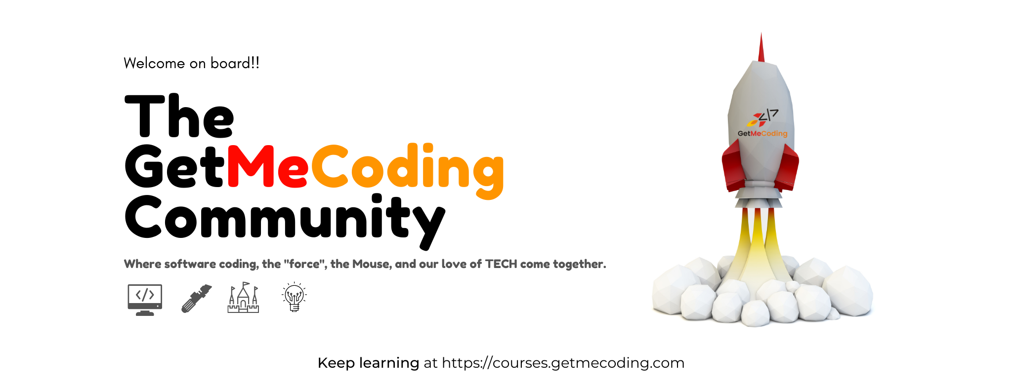 Logo for GetMeCoding Private Facebook community